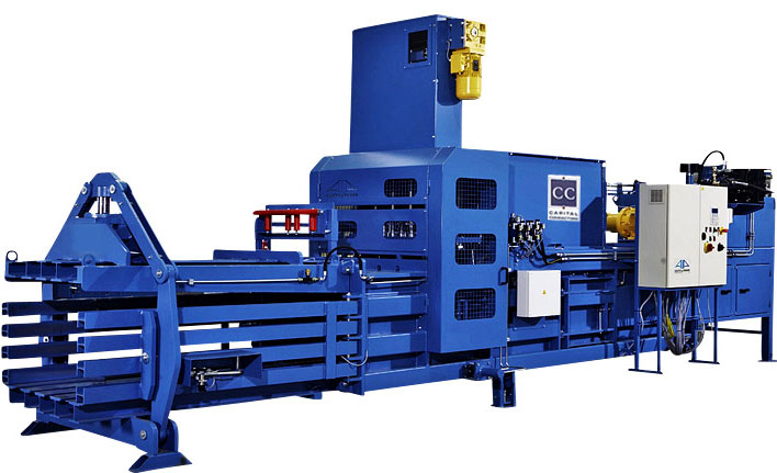 Waste Balers and Recycling Balers from Capital Compactors
