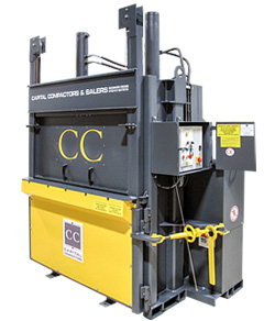Mill Size Baler from Capital Compactors